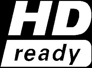 Logo HD ready - bianco