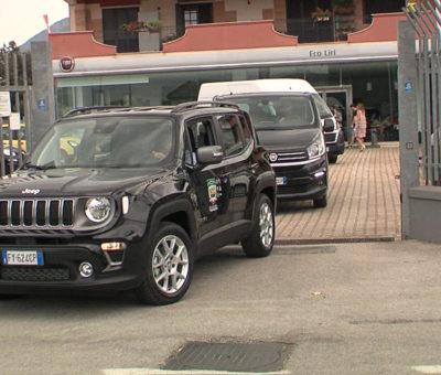 Consegna automezzi al Frosinone Calcio