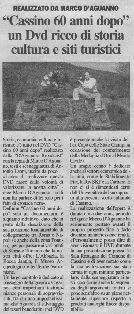 Cassino Oggi 14-02-2007